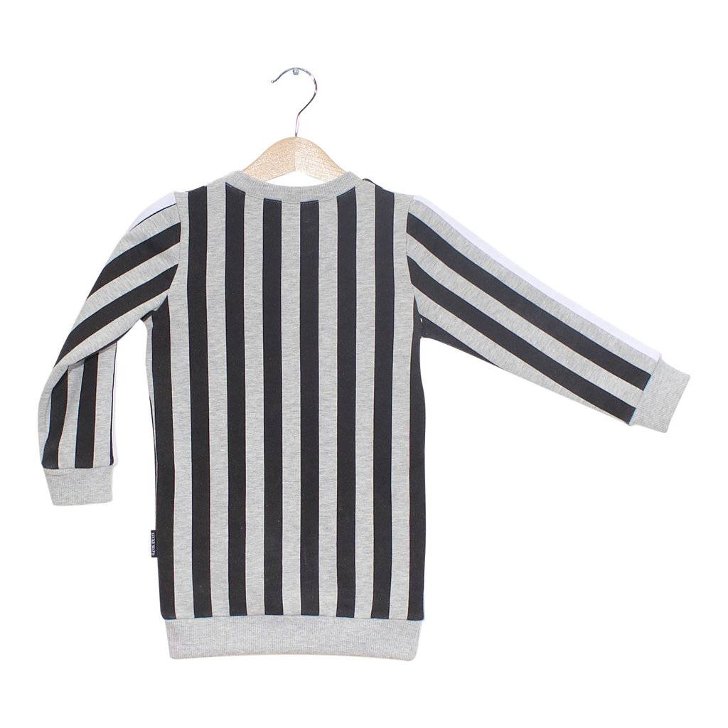 Lucky No. 7 Lucky No.7 Stripy Sweaterdress