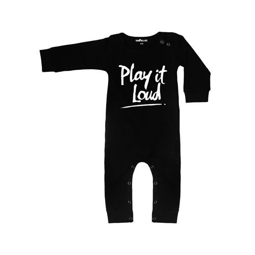 Van Pauline VanPauline Play it loud Onesie