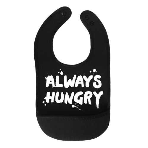 Van Pauline Bib Always hungry
