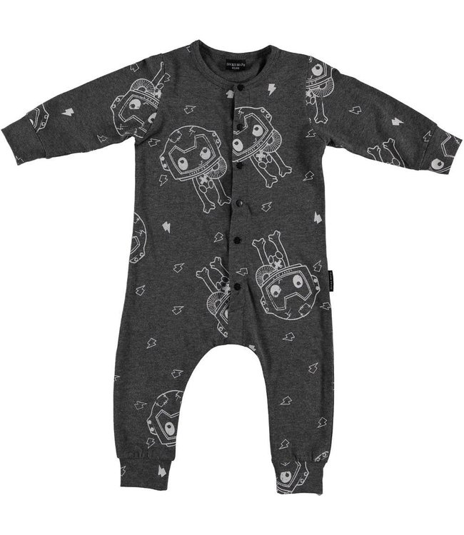 Lucky No. 7 Space Monster onesie