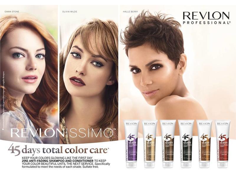 Revlon 45 days Shampoo & Conditioner Brave Reds 275ml