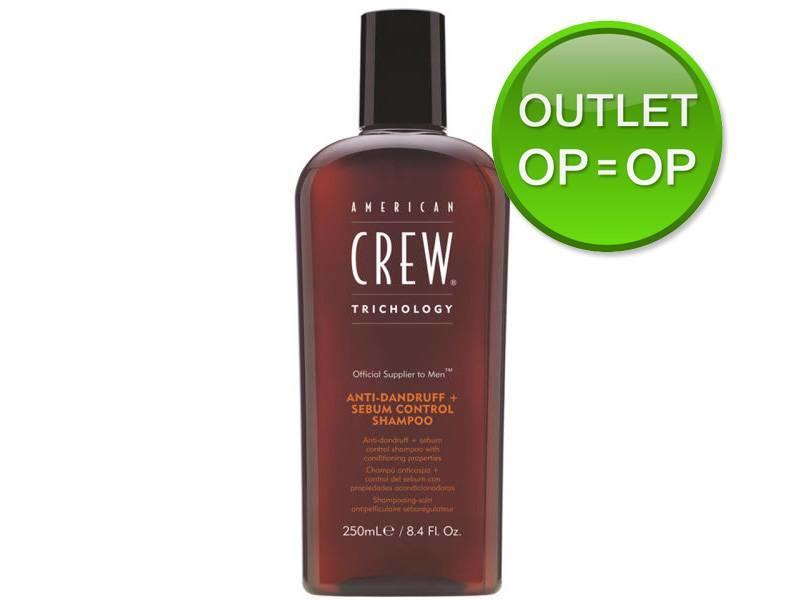 American Crew Anti-Dandruff en Sebum Control Shampoo 250ml