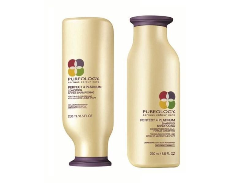 Pureology Perfect 4 Platinum Shampoo en Conditioner Voordeelset