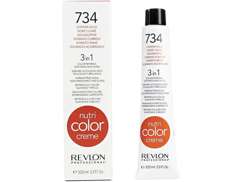 Revlon Nutri Color Creme 734 Copper Gold 100ml