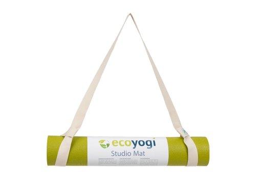Ecoyogi Easy Sling - yoga mat draagriem - Naturel