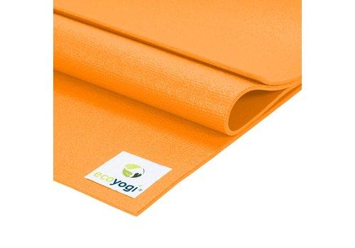 Ecoyogi Studio yoga mat Oranje - Extra lang
