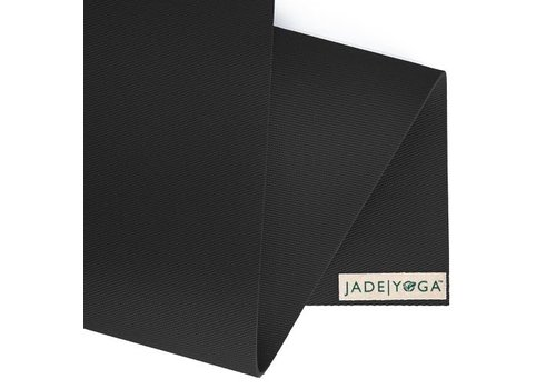 Jade Yoga Harmony Mat 188 cm - Black (5mm)