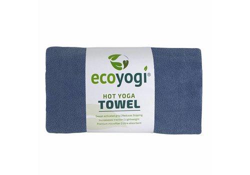 Ecoyogi Hot Yoga Towel - Blauw