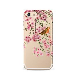 iPhone 7 soft case bloesem