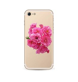 iPhone 7 soft case roosjes