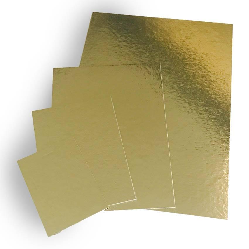 Goudkarton 120x175mm (per 100 stuks)