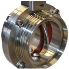 Butterfly valve, DN25, thread/thread, DIN, 304