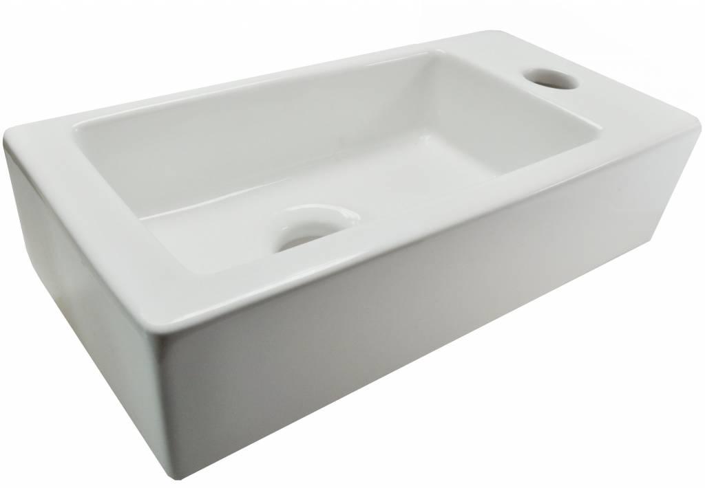 Mini Fontein Toilet : Wiesbaden mini rhea rechts fontein wit saniglow