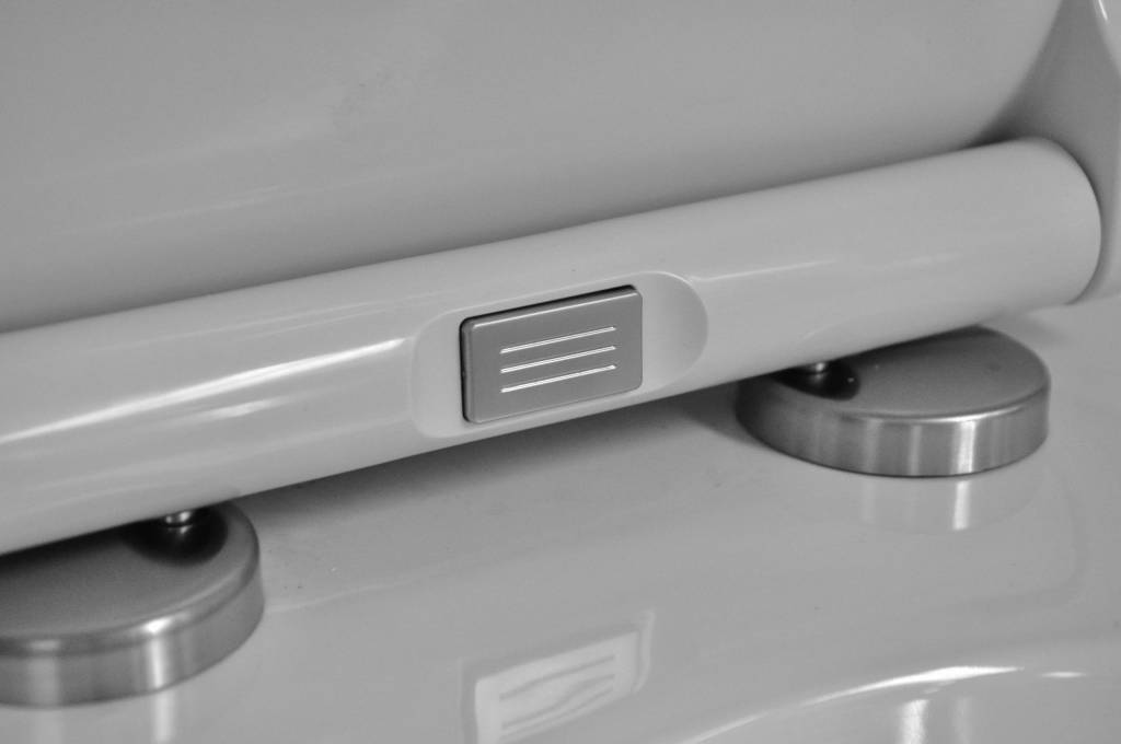 Wiesbaden Led-Seat Soft-Close toiletzitting+deksel + LED wit