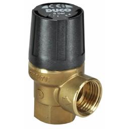 Saniglow Duco Veiligheidsventiel 1/2Bi.3 B.