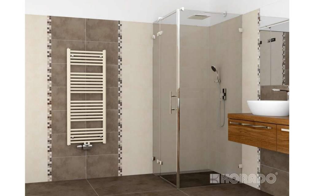 Aansluitingen handdoekradiator 081327 ontwerp inspiratie voor de badkamer en de - Badkamer kamer model ...