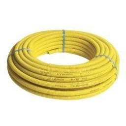 Henco Henco gasslang mantel geel 50m 16x2