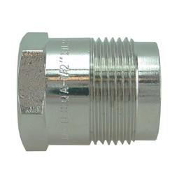Saniglow Gaskomfoor koppeling recht 1/2xM24