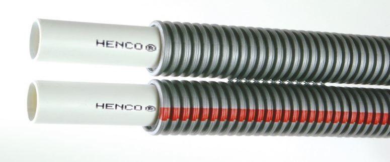Henco Henco combi slang met grijze mantel 2x 16x2