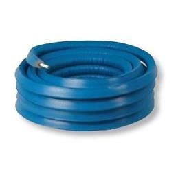 Henco alupex buis 26x3 met isolatie blauw 6mm, rol 25 meter