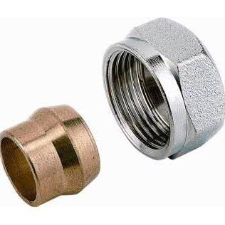 Comap Comap adapter M22 x 15mm staal/koper
