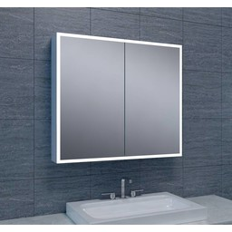 Wiesbaden WB Quatro spiegelkast met LED verlichting 80x70x13