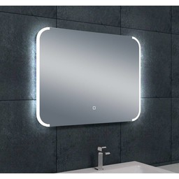 Wiesbaden Bracket dimbare LED condensvrije spiegel 800x600