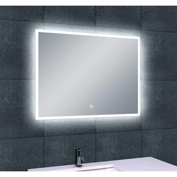 Wiesbaden wb quatro led condensvrije spiegel 80x60 for Spiegel 80x60