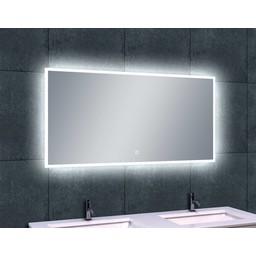 Wiesbaden WB Quatro-Led condensvrije spiegel 120x60