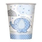 Baby Shower blue beker a8
