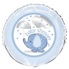 Baby Shower blue folieballon