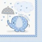 Baby Shower blue servet a16
