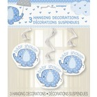 Baby Shower hangdeco blue a3