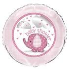 Baby Shower pink folieballon