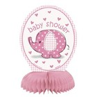 Baby Shower pink tafeldeco 15cm a4