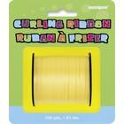 Krullint op rol geel 91.4m*