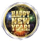 Happy New Year folieballon 18inch - bulk*