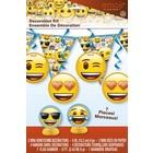 Emoji decoratie kit 7-delig*
