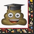 Emoji Graduation lunch servet a16*