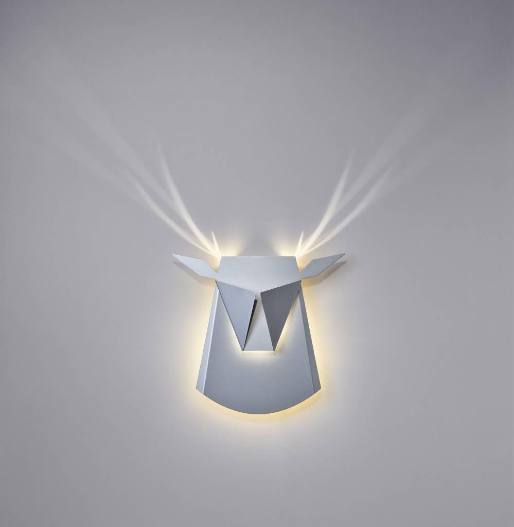 popup lightingdesign hertenhoofd wandverlichting