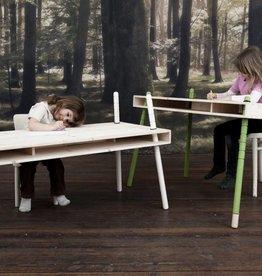 Perludi Caspar - verstelbaar tafeltje in beuk