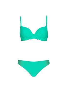 lingadore bahama voorgevormde bikini met slip gratis pareo