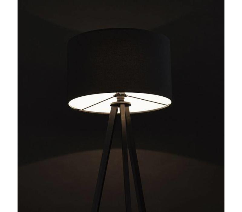 Vloerlamp Trivet Zwart