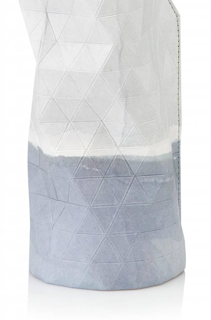 Paper Vase Cover Watercolour White (small)