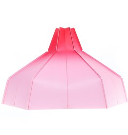 Folded Lampshade Pink Gradient
