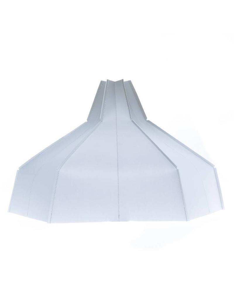 Folded Lampshade Grey Gradient