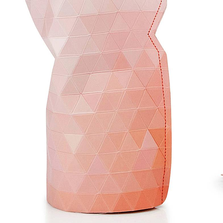 Paper Vase Cover Pink Tones (small)