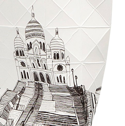 Paper Vase Cover City Edition - Paris