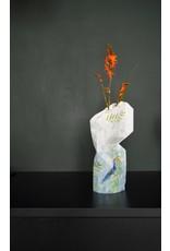 Paper Vase Cover Jungle Leaves