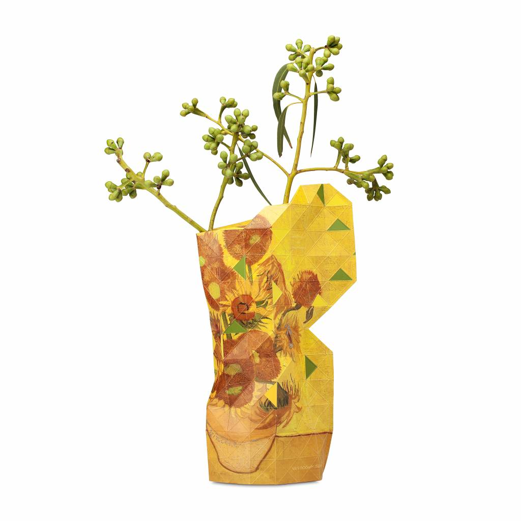 Paper Vase Cover Sunflower